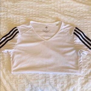 🌹3 for $25🌹 ADIDAS - S White Athletic Top